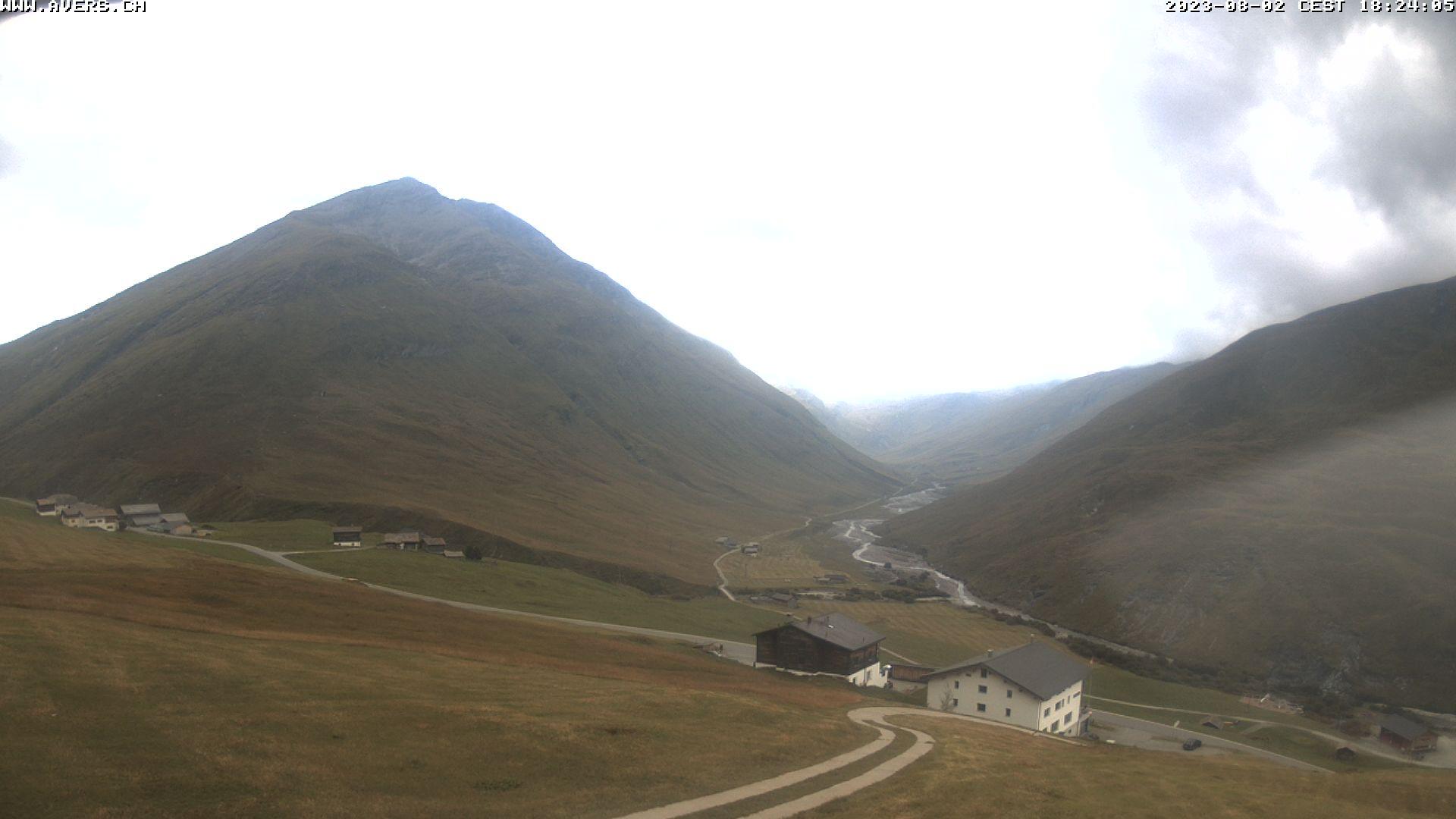 Wetterkamera, Avers, Skilift, Graubünden, Cavetta, Bregalga, Webcam